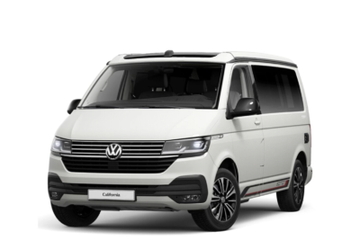 VW T6.1 California Candy white Vorderansicht